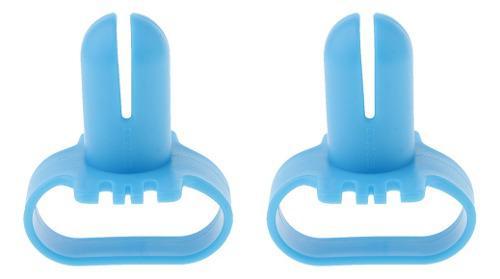 2 pcs nudo de globo de látex con herramienta para atado de