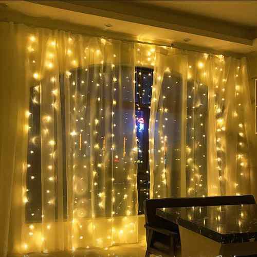 220v 6x3m led luces de organza fondo para bodas fiesta de cu