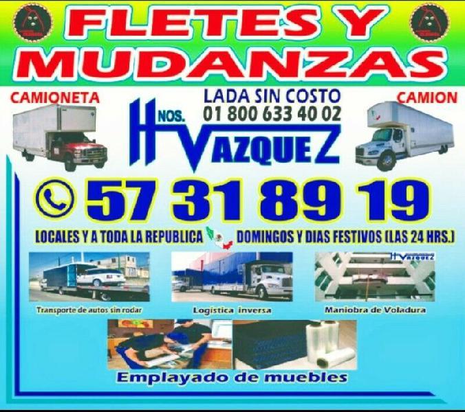 Mudanzas hnos. vazquez  57318919