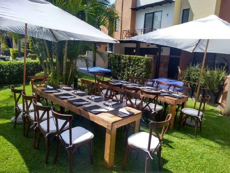 Renta de mobiliario para eventos en cuernavaca!!