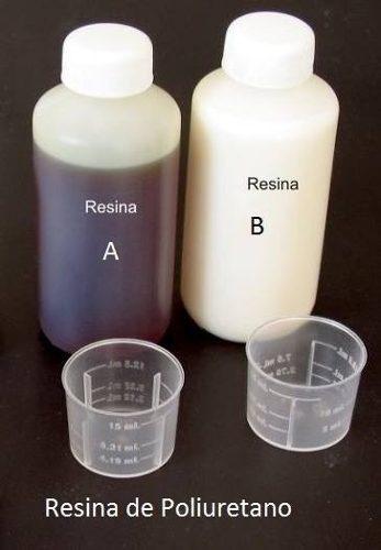 Resina espuma flexible de poliuretano a+b total 1.75 lt