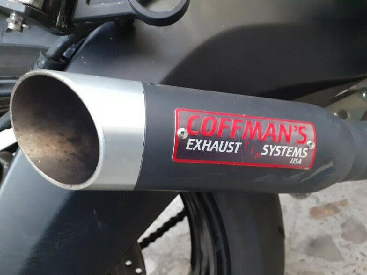 Exhaust system usamarca c o f f m a n s, pipa, hader, escape