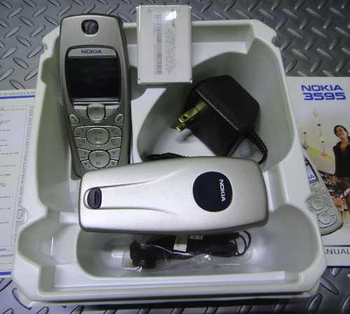 Celular Nokia Vintage (Telcel) Con Accesorios (Nuev0)
