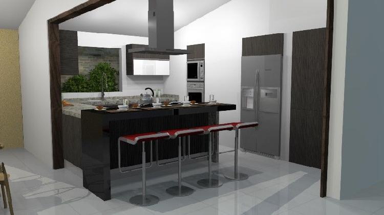 Diseno y fabricacion de cocina y closets residencial