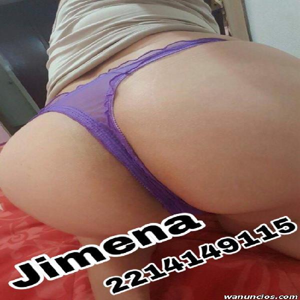 JIMENA MASAJE DE RELAJACIÓN, CON RICO FINAL FELIZ........