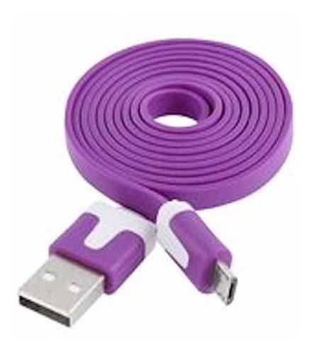 Ntj largo 2 m 6 pies plano cable libre de enredos cable de