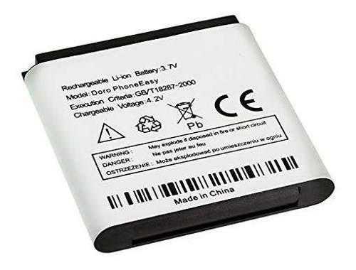 Nueva batería de repuesto dbf800 doro phoneeasy 520 520x 62