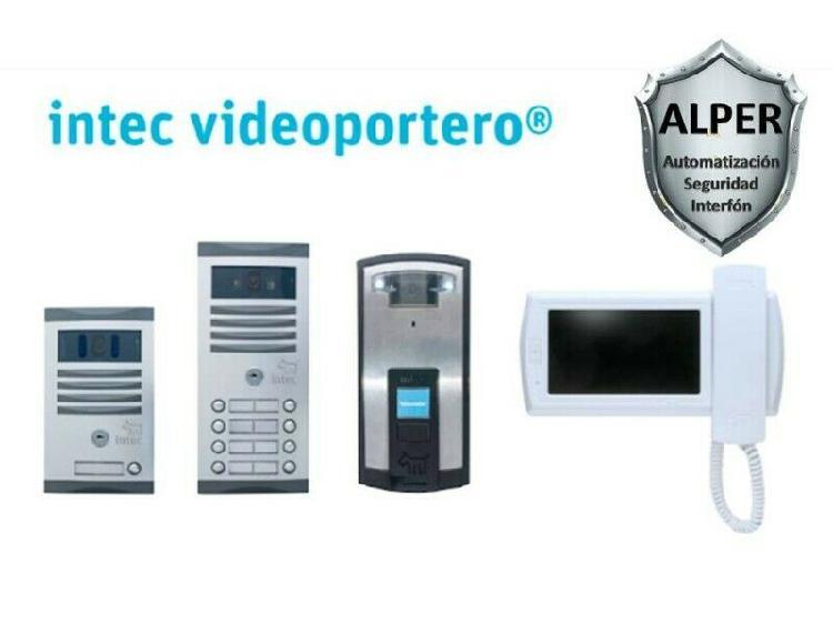 Videoporteros reparación, instalación y venta