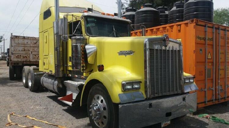 Kenworth w900 tracto camion motor cumins 450 hp caja 10 vel