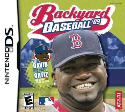 Backyard baseball 2009 nintendo ds