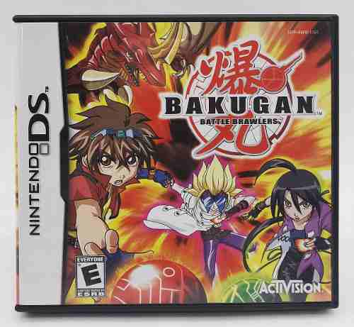 Bakugan battle brawlers nintendo ds original * r g gallery