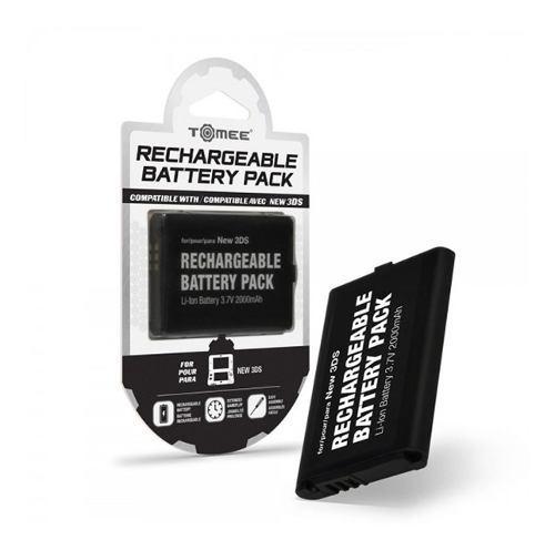Batería recargable para nintendo new 3ds original tomee