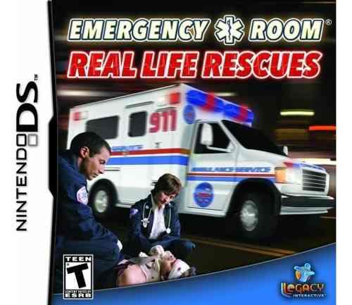 Emergency room real life rescata a nintendo ds
