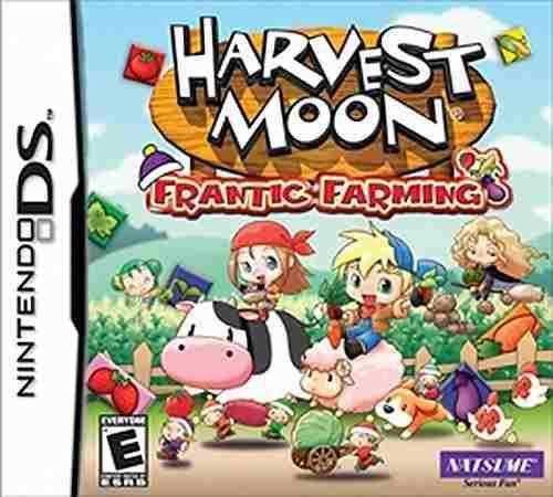 Harvest moon frantic farming nintendo ds