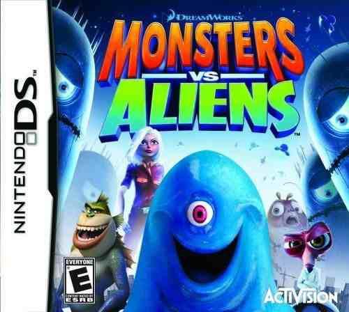 Monstruos contra alienígenas - nintendo ds
