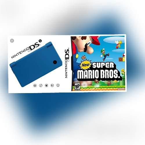 Nintendo dsi con new super mario bros