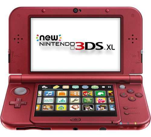 Nintendo new 3ds xl rojo en excelentes condiciones