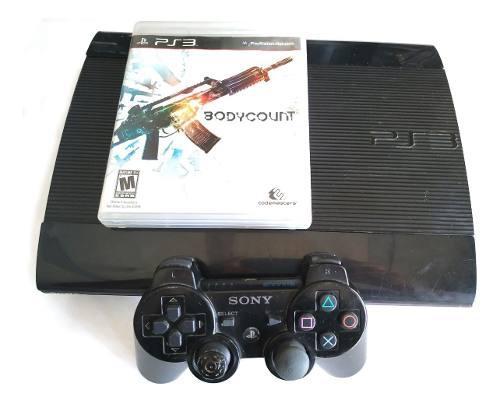 Playstation 3 super slim 250gb + juego completo
