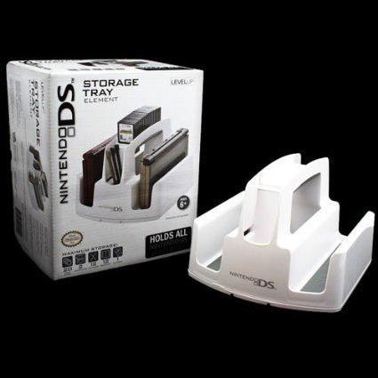 Porta 3ds bandeja organizadora blanca nueva