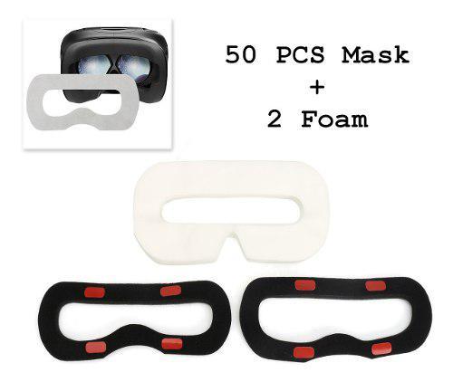 50 mascarillas desechables higiénicas faciales, máscara de