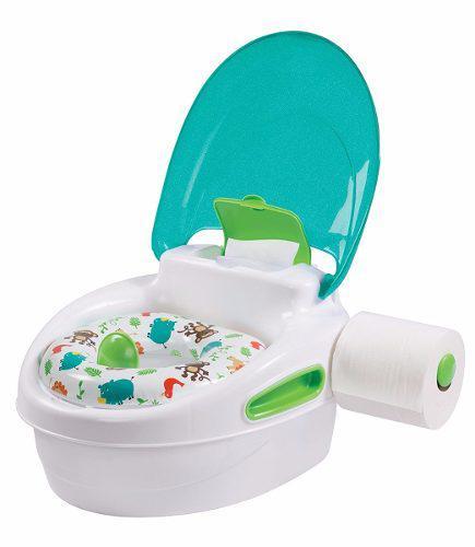 Baño entrenador infantil deluxe 3 en 1 summer infant niño