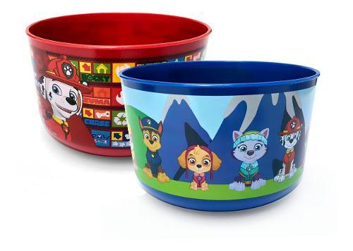 Bowl platos paw patrol niños bebes niñas kids tazon