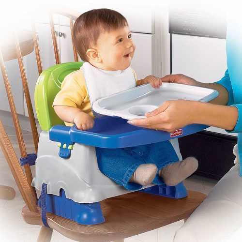 Fisher price silla de refuerzo limpia fácil periquera