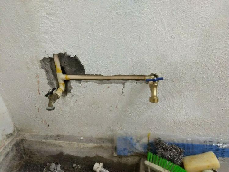 Fontanero instalación de agua y gas, desazolve, fugas