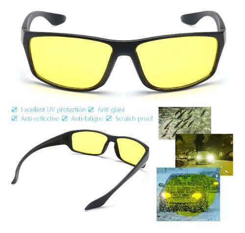 Gafas de conducción unisex hd con lentes de visión