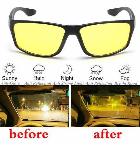 Gafas de sol unisex para conducción nocturna,