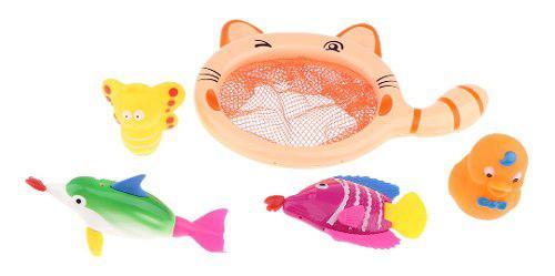 Juguete de pesca para bebés - juego de juguetes de baño -