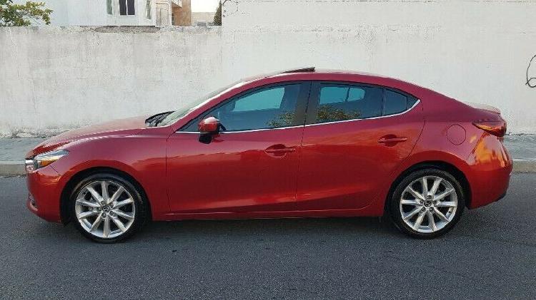 Mazda 3 sedan 2017 std 4 cilindros version sport lujo full