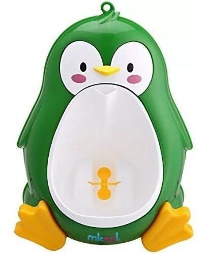 Mingitorio bebe niño pingüino