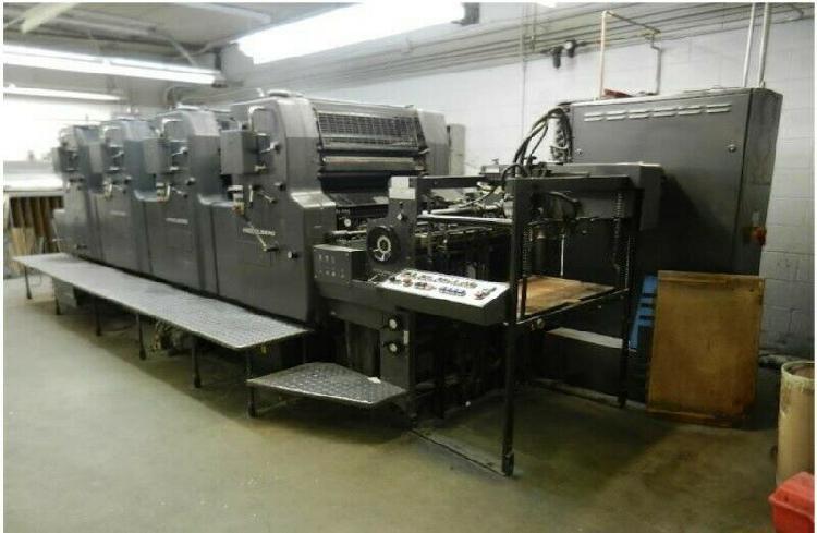 Máquina offset – 4 colores heidelberg mo-vp