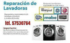 Reparación de lavadoras y refrigeradores marcas comerciales