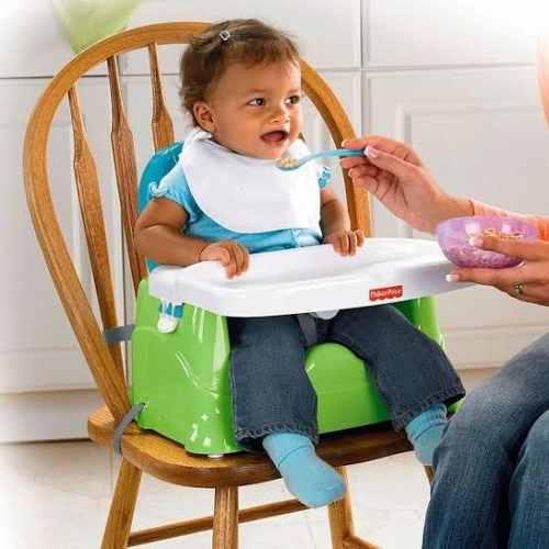 Silla bebé booster para comer limpia facil fisher price