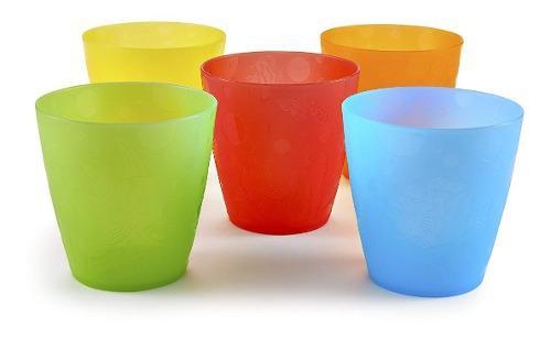 Vasos para niños multicolor munchkin 8 onzas 5 piezas