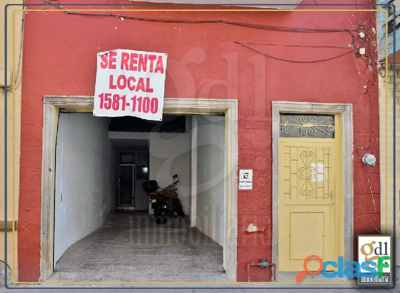 Local zona nueve esquinas $7,500.