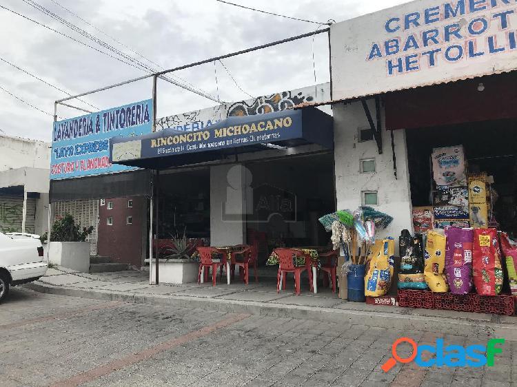 Local comercial en venta en jardines de santiago, querétaro, en plaza horizontal