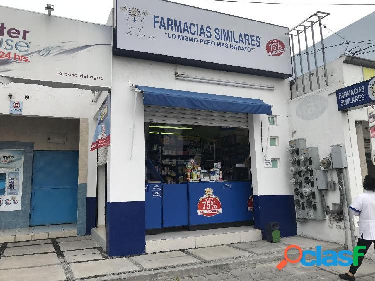 Local comercial rentado en venta en jardines de santiago, querétaro