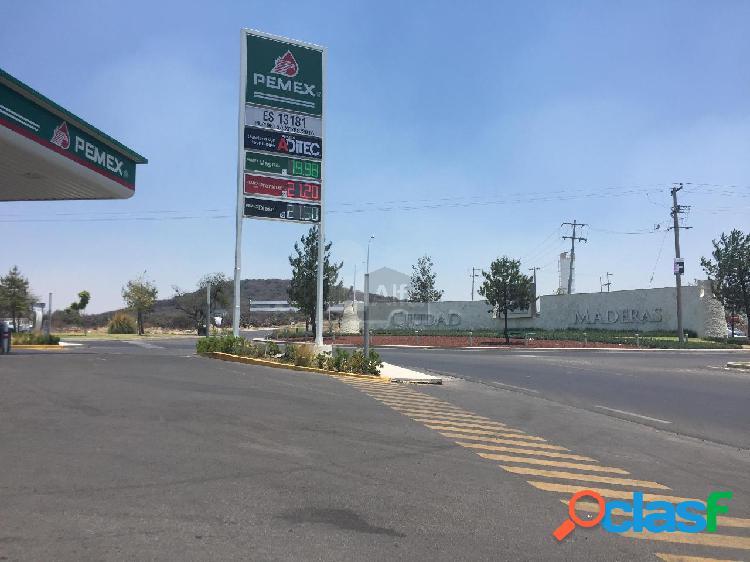 Terreno Comercial en Venta y Renta en Cd Maderas El Marqués