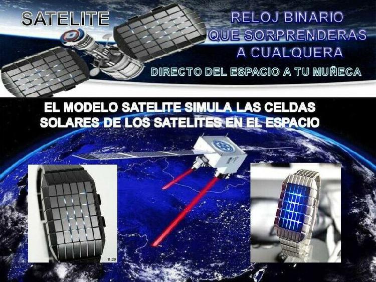 Reloj satelite