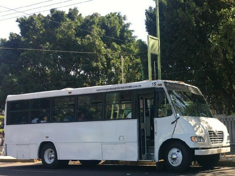 Renta de transporte escolar, personal y turismo