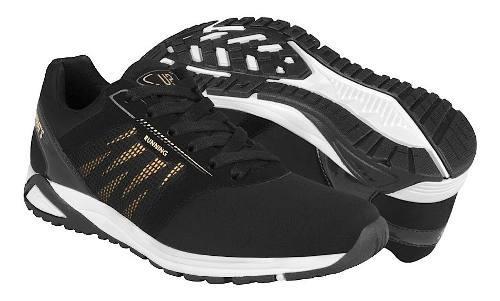 Tenis para correr what´s up para mujer negro oro 160610