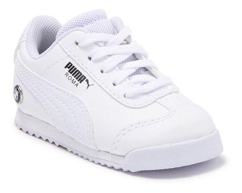 Tenis puma niño blanco bmw mms roma inf 30643602