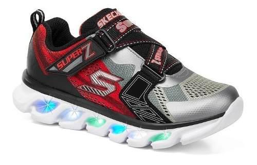 Tenis skechers para niños con increibles luces led