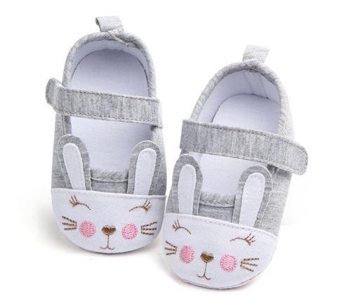 Zapatitos conejo bebe niña hermosos tiernos comodos suaves