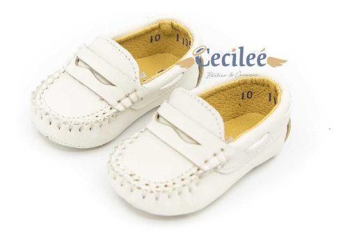 Zapatos Bautizo Bebe Hermosos Exclusivo Ceremonia 1135