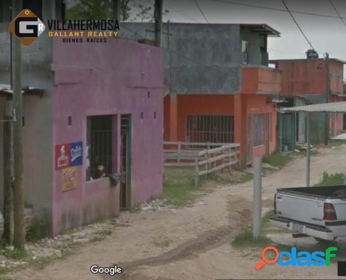 Terreno en venta en col. miguel hidalgo, villahermosa, tabasco