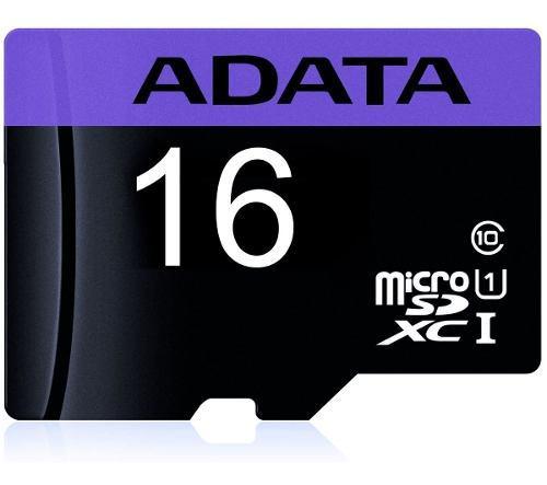 Adata memoria micro sd 16gb cl 10 ausdh16guicl10-ra1